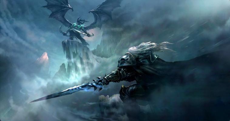 Arthas vs Illidan-by Graven Tung